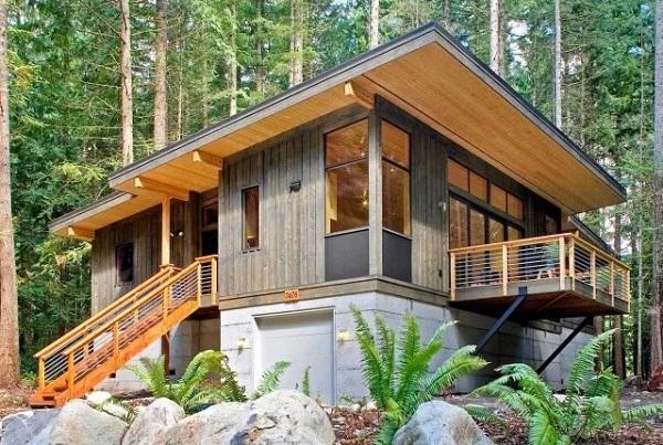 nhà gỗ đẹp