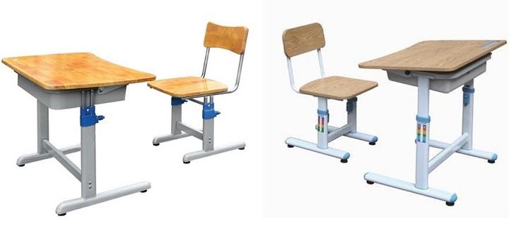 Mẫu bán ghế trường tiểu học