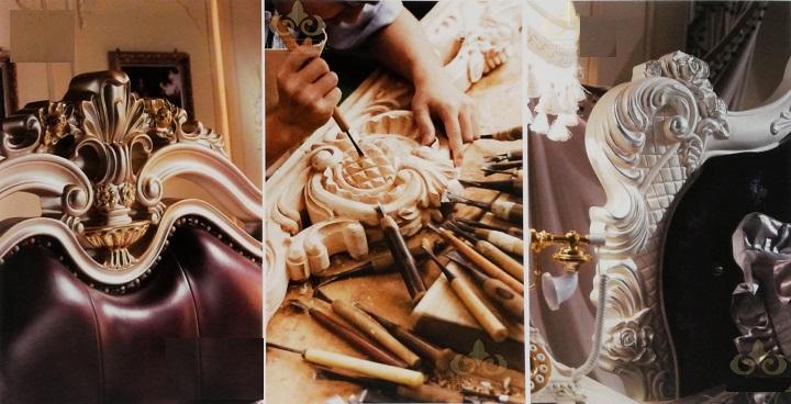 Sản xuất đồ gỗ nội thất tân cổ điển