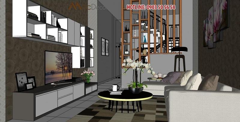 Thiết kế thi công nội thất uy tín giá rẻ