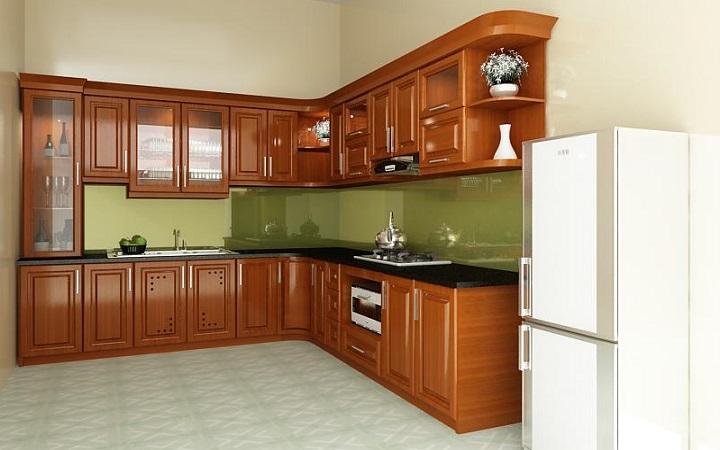 Tủ bếp làm bằng loại gỗ nào tốt nhất?